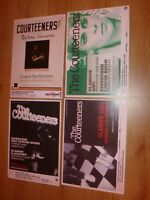The Courteeners live concert memorabilia - Scottish tour concert gig posters x 4