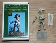 NAPOLEON-HISTOREX-54mm-COLONEL DESPANS CUBIERES-LES ARMEES DE WATERLOO-1815