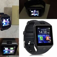 SMART WATCH OROLOGIO CELLULARE PER SAMSUNG ALCATEL GALAXY GEAR SIM CAMERA SELFIE