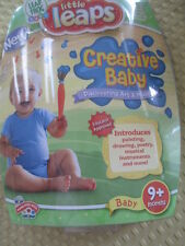 Leap Frog Baby - Little Leaps - Creative Baby - Discovering Art & Music DVD BN