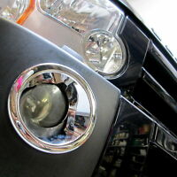 Chrome fog lamp covers for Land Rover Discovery 3 LR3 accessories light bumper