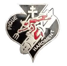 Insigne : 1ère escadrille du GB 1/17 Picardie / 1/18 Vendée- FAFL - France Libre