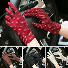 Fabric Gloves Knitted Summer Wrist Glove Women Gloves Protection Glove Mittens