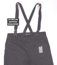 $285.00 Rare JOHN VARVATOS Grey Label 54 Suspenders Cargo Pants *Make An Offer!*