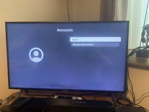 Samsung 40 inch Flat Screen Smart TV - BUYER COLLECTS