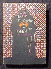 1958 The Confession by Mario Soldati 1st Borzoi Hc/Dj Vg+/Vg-