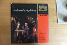 HIS MASTER VOICE CLASSICAL STEREO-INSTRUMENTS OF THE ORCHESTRA-YEHUDI MENUHIN-CS