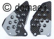 Honda VTR1000 SP1 SC45 / SP2 RC51 carbon fiber heel guards plates 2000-2006
