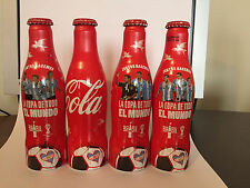COCA COLA 4 BOTTLES   FIFA WORLD CUP 2014 FROM ARGENTINA EMPTY