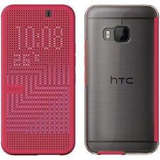 Original HTC M232 Rosa lunares vista Premium carpeta tapa