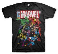 T-shirt Marvel Comics Team-up super-heroes maglia Uomo by Hybris