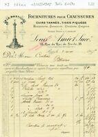 Paris IV ème 18 Rue Roi de Sicile - Belle Entête Secteur de la Chaussure 1915