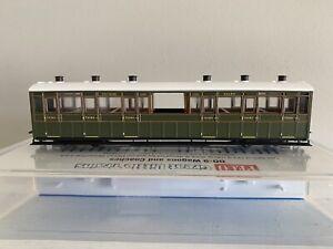 PECO 00-9 Narrow Gauge Model No:GR-451A SR livery Observation Coach No:2466 .