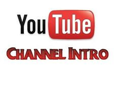 Professional Cheap+Best  4 YouTube Channel Intros (4 intros)