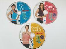 Debbie Siebers Slim Express - 3 Dvds Cardio Sculpt, Cool It Off, Cardio Core