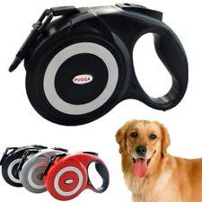 5m/8m Retractable Flexible Leash for Dog Pet Auto Led Size Medium Large Small