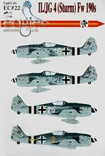 Eagle Cal 1/72 Focke Wulf Fw 190A-8/RS II./JG4 (Sturm) # 72022
