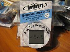 "Winn Grips 44"" Superior Fishing Rod Wrap OverWrap / Dark Gray Sow11-Dg"