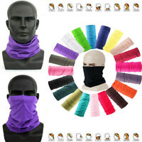 Face Scarf Bandana Head Neck Gaiter Snood Headwear Beanie Balaclava Cover Band