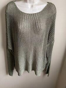 NWT ELAN Sweater Womens M $62