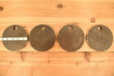 """AR500 1/2"""" American Steel Shooting Targets 5"""" Circles SET OF FOUR"""