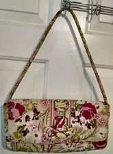 "Vera Bradley Knot Just a Clutch Handbag  MAKE ME BLUSH  SHOULDER STRAP 12"" X 6"""
