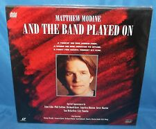 AND THE BAND PLAYED ON HBO HOME VIDEO LASER DISC 1994 2 DISC