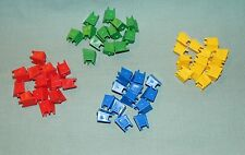 Monopoly Junior Jr Disney Channel 2007 - Plastic TV's - 52 pcs  (Parts)  #MJ07