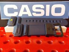 Casio Watch Band TRT-100 H-2 blue Twin Resist Resin Strap Watchband