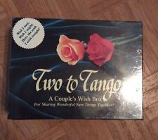 Two to Tango Board Game New In Box Never Opened