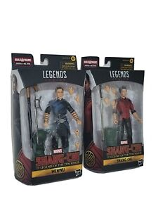 Marvel Legends 2 Pack Wenwu & Shang Chi Legend Of Ten Rings Hasbro Action Figure