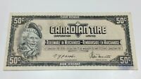 1974 Canadian Tire 50 Fifty Cents CTC-S4-E-EN Circulated Money Banknote E071