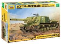 ISU-152 - WW II SOVIET SELF-PROPELLED GUN  #3532 1/35 ZVEZDA