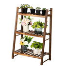 NEW 3 Tiers Plant Holder Stands Flower Ladder Balcony Pot Patio Succulents Rack