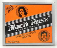 5 x 10gm Black Rose 50grams Kali Mehndi Black Henna Herbal Hair dye Powder