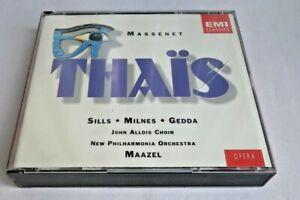 Massenet - Thais ......Sills Milnes Gedda 2 CD Fatpack