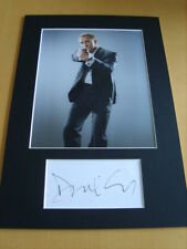 Daniel Craig James Bond Genuine Signed Authentic Autograph - UACC / AFTAL.
