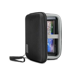 USA Gear Hard Case Electronic Organizer Travel Case 7.5 Inch with Weather Res...