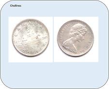 UN DOLAR DE PLATA AÑO 1966  CANADA     ( MB11381 )