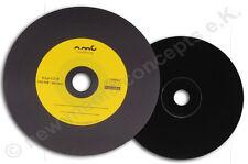 Vinyl CD-R Carbon,25 Stück in Cake,700 MB zum archivieren, Dye schwarz Gelb