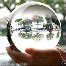 Asian Rare Natural Quartz Clear Magic Crystal Healing Ball Sphere 100mm + Stand.