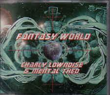 Charly Lownoise&Mental Theo-Fantasy World cd Maxi single eurodance holland