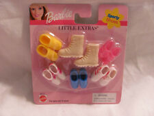 BRAND NEW 1999 BARBIE LITTLE EXTRAS SPORTY SHOES 68715