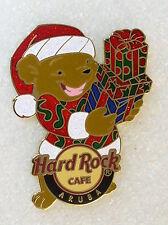 ARUBA,Hard Rock Cafe Pin,CHRISTMAS BEAR 2008,X-MAS