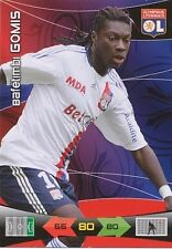 GOMIS LYON OL TRADING CARDS ADRENALYN PANINI FOOT 2011