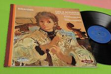 BRAHMS LP LES 2 SONATES FRANCE PRESS NM !!!!!!! GATEFOLD TOP CLASSICA