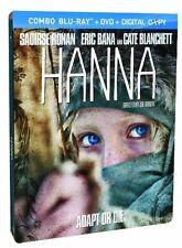 Hanna Limited Edition Steelbook (DVD/Blu-ray/ Digital Copy) Cnd READ AUCTION