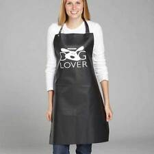 DOG LOVER APRONS for Stylist Groomer Barber or At Home Use Black Waterproof !