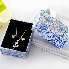 CHINA Jewellery Gift Boxes Bag Earrings Pendant Necklace Bracelet Ring Set Box