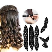 20Pc Magic Foam Hair Curlers Flexible Sponge Hair Rollers Soft Sleep Foam USA